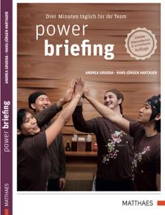 Expert Marketplace -  Andrea Grudda  -  Power Briefing: Drei Minuten täglich für Ihr Team