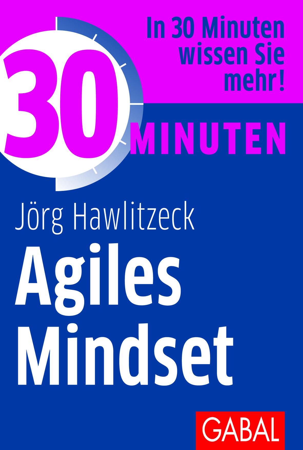 Expert Marketplace -  Jörg Hawlitzeck  - 30 Minuten Agiles Mindset (Deutsch) Taschenbuch – 15. September 2020