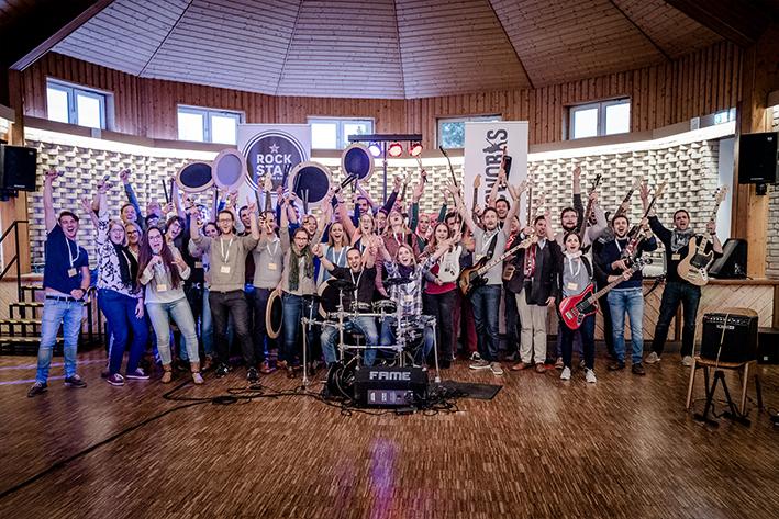 Expert Marketplace -    Musicworks -Teambuilding - Impressionen zwei