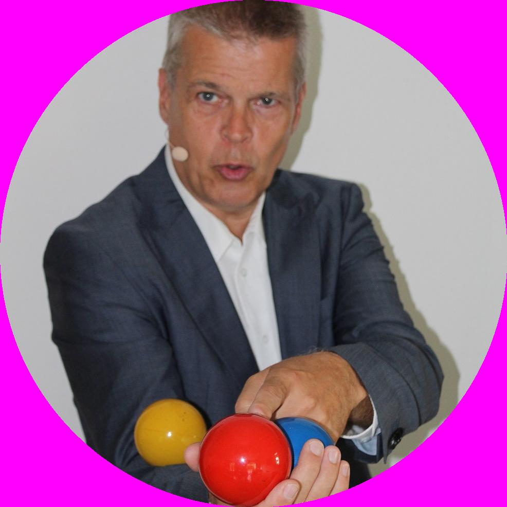 Expert Marketplace -  Motivator, Moderator & Jonglator Stephan Ehlers - Portrait