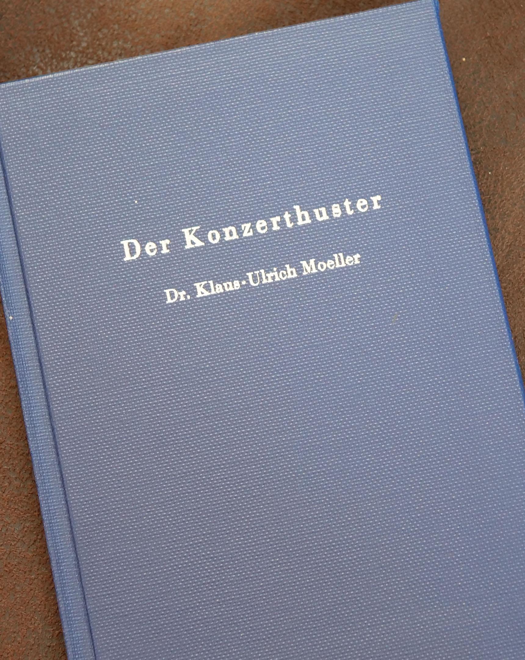 Expert Marketplace - Dr. Klaus-Ulrich Moeller - Der Konzerthuster