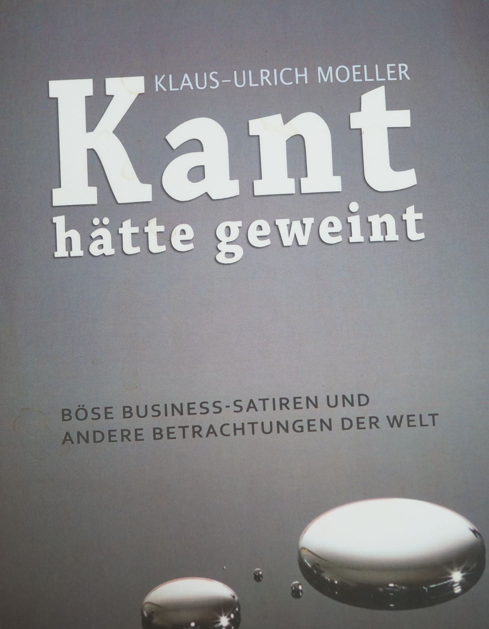 Expert Marketplace - Dr. Klaus-Ulrich Moeller - Kant hätte geweint