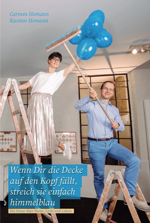 Expert Marketplace -  Karsten Homann - Experte für Motivation mit Farbe - Wenn Dir die Decke auf den Kopf fällt, streich sie einfach himmelblau!