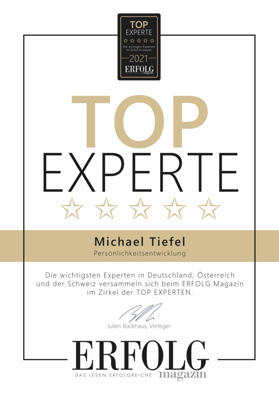 Expert Marketplace -  Michael  Tiefel - Impressionen eins