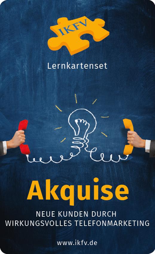 Expert Marketplace -  Frank Mohr - Lernkartenset Akquise