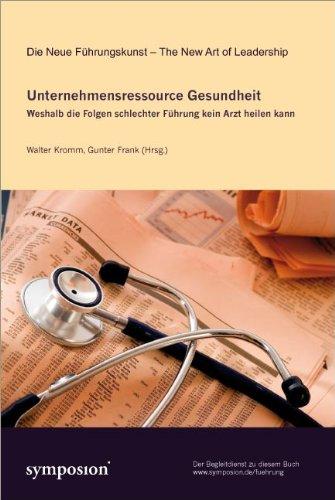 Expert Marketplace -  Dr. med. Walter Kromm, Master of Public Health  - Unternehmensressource Gesundheit