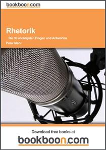 Expert Marketplace -  Peter Mohr  - RHETORIK  Die 30 wichtigsten Fragen und Antworten